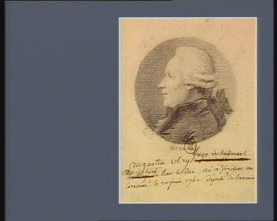 Augustin Ulry juge du tribunal au district de Bar-le-Duc né <em>à</em> Vézélise en Lorraine le 20 juin 1740 député du Barrois : [dessin]