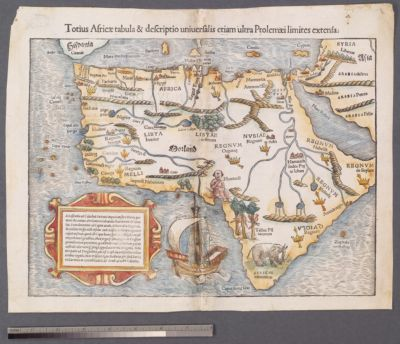 Early Modern Mapping of Africa | Universe of Maps - Opening the ...