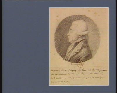Bernard Jean Jacques de Law, marquis de Lusignan né au château de Xaindrailles en Condomois et deputé aux Etats généraux pour la noblesse de ce bailliage : [dessin]
