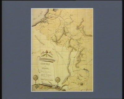 Cours du Rhin ou théatre de la guerre du Nord [dessin]