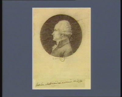 Charles Chabroud né à Vienne en 1750 : [dessin]