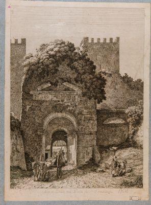 Arco di Druso, porta Appia