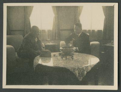 Wang Jingwei and Hideki Tojo