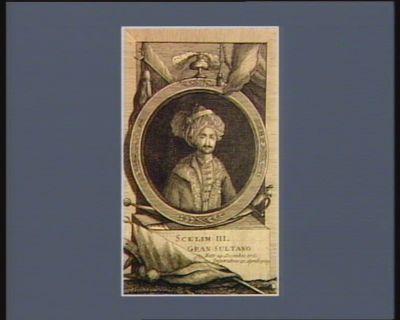 Scelim <em>III</em> Gran Sultanu nato 24 decembre <em>1761</em>, imperator 13 aprile 1789 : [estampe]
