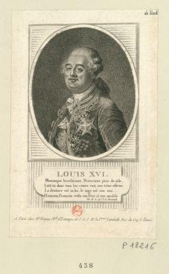 Louis XVI£ monarque bienfaisant, protecteur plein de zèle... : [estampe]