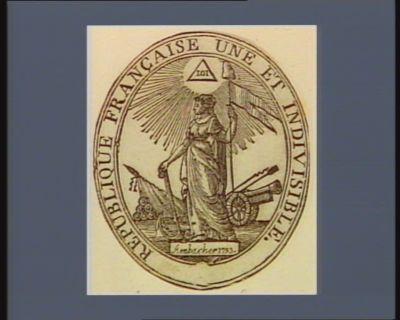 République française une et indivisible [estampe]