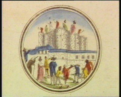 [Démolition de la <em>Bastille</em>] [estampe]