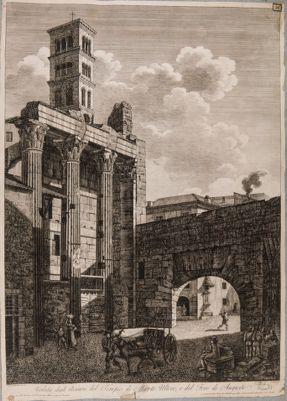 Foro di Augusto. Tempio di Marte Ultore e Arco dei Pantani