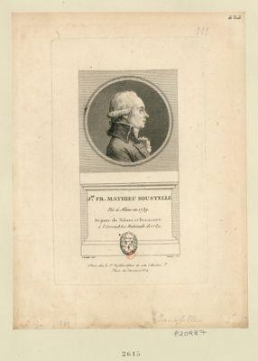 J.an Fr. Mathieu Soustelle né à Alais en 1739 deputé de Nismes et Beaucaire à l'Assemblée nationale de 1789 : [estampe]