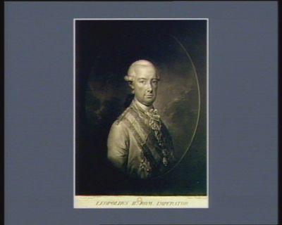 Leopoldus II rom. Imperator Hungariae Bohemiae & rex archidux Austriae &c &c. : [estampe]