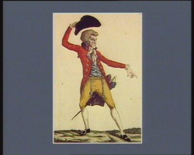 Mr le marquis de la Flamberge expliquant ses raisons à Mr Tantamare au champs des Capucins [estampe]