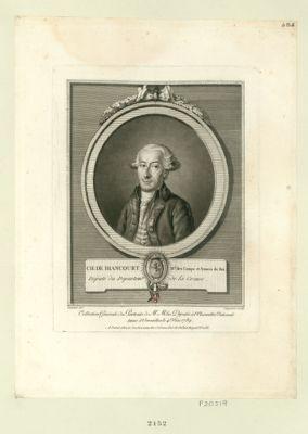 Ch. de Biancourt m.al des camps et armees du Roi deputé du departem.t de la Creuse : [estampe]