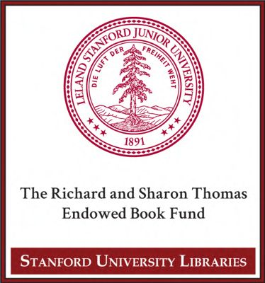 The Richard and Sharon Thomas Endowed Book Fund