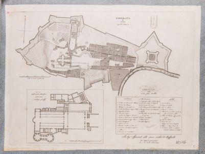 Topografia del Palazzo Vaticano riportata al XVII sec