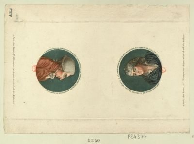 L.M. Le Pelletier S. Fargeau Jean Paul Marat... : [estampe]