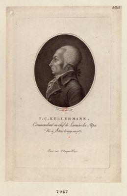 F.C. Kellermann commandant en chef de l'armée des Alpes, né à Strasbourg en 1737 : [estampe]