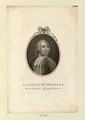 L.P.J. Duca d'Orléans denominato Uguaglianza : [estampe]