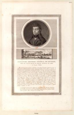 Alexandre Berthier général de division, chef de l'état-major [estampe]