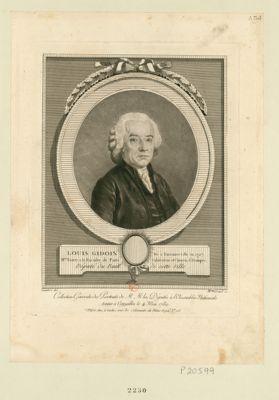 Louis Gidoin, né à Emonnerville en 1727 m.tre es arts à la faculté de Paris, cultivateur et citoyen d'Etampes député du baill. de cette ville : [estampe]