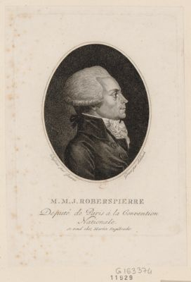 M.M.J. Roberspierre deputé de Paris à la Convention nationale : [estampe]