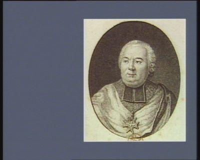 [Le  Cardinal de Bernis] [estampe]