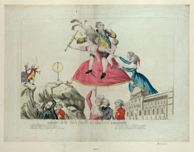 Enjambée de la sainte famille des Thuileries à Montmidy [estampe]