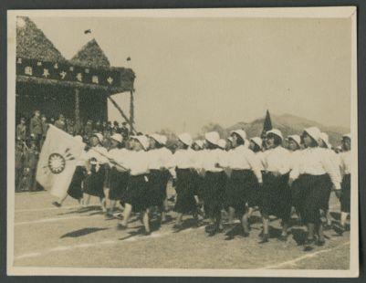 China Youth League parade