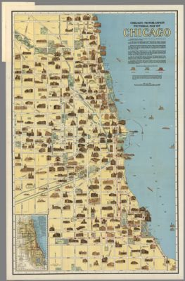 Oak Park Chicago Map.Chicago Lake Michigan Scale 1 12 500 1 1 000 000 Chicago Region