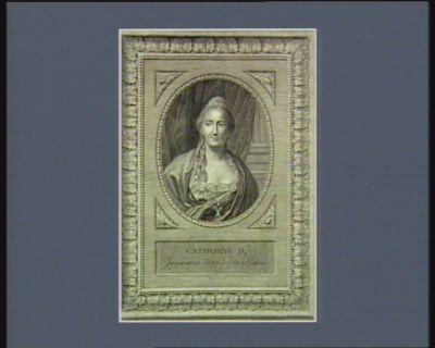 Catherine II imperatrice de toutes les Russies : hommes illustres vivans : [estampe]