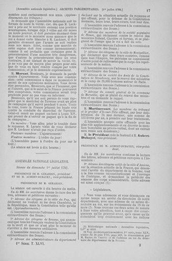 Tome 46 : Du 30 juin au 20 juillet 1792 - page 17