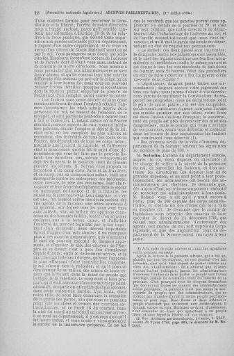 Tome 46 : Du 30 juin au 20 juillet 1792 - page 18