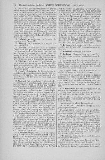 Tome 46 : Du 30 juin au 20 juillet 1792 - page 28