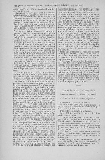 Tome 46 : Du 30 juin au 20 juillet 1792 - page 120