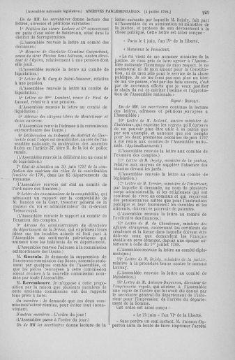 Tome 46 : Du 30 juin au 20 juillet 1792 - page 121