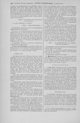 Tome 46 : Du 30 juin au 20 juillet 1792 - page 122