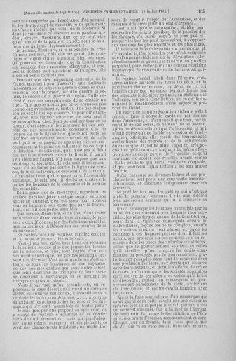 Tome 46 : Du 30 juin au 20 juillet 1792 - page 135