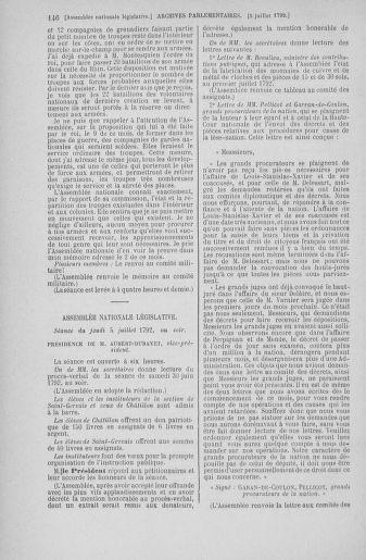 Tome 46 : Du 30 juin au 20 juillet 1792 - page 146