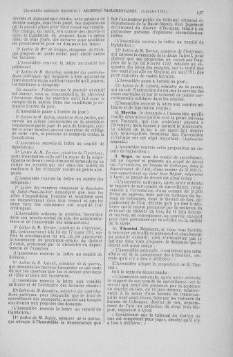 Tome 46 : Du 30 juin au 20 juillet 1792 - page 147