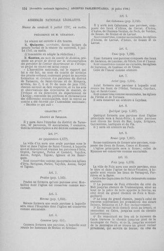 Tome 46 : Du 30 juin au 20 juillet 1792 - page 154