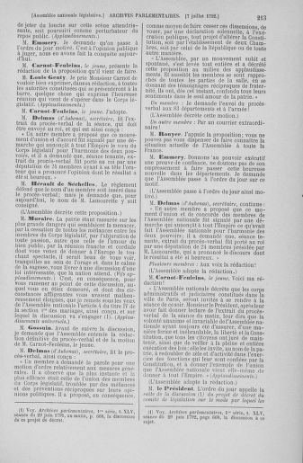 Tome 46 : Du 30 juin au 20 juillet 1792 - page 213
