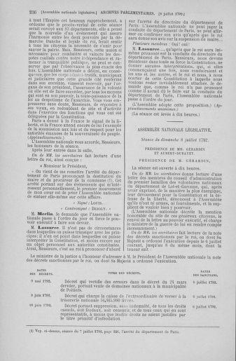 Tome 46 : Du 30 juin au 20 juillet 1792 - page 236