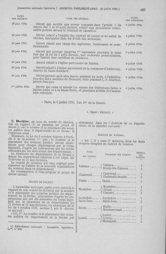 Tome 46 : Du 30 juin au 20 juillet 1792 - page 237