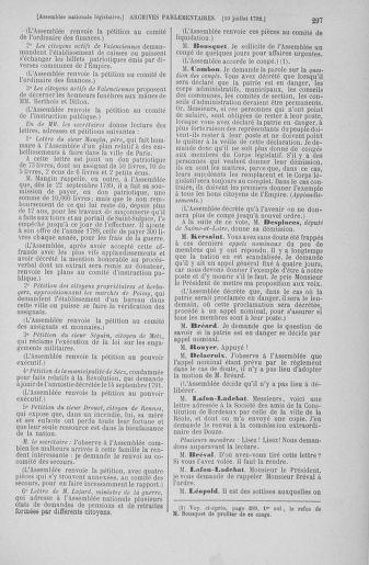 Tome 46 : Du 30 juin au 20 juillet 1792 - page 297