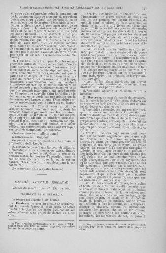 Tome 46 : Du 30 juin au 20 juillet 1792 - page 317