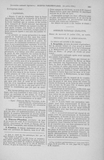 Tome 46 : Du 30 juin au 20 juillet 1792 - page 323