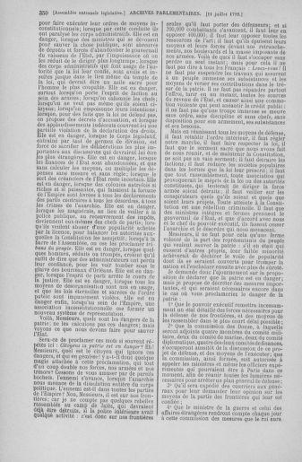 Tome 46 : Du 30 juin au 20 juillet 1792 - page 350