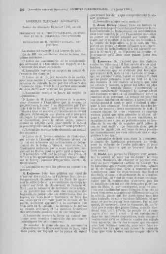 Tome 46 : Du 30 juin au 20 juillet 1792 - page 492