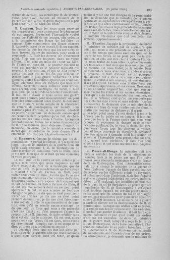 Tome 46 : Du 30 juin au 20 juillet 1792 - page 493