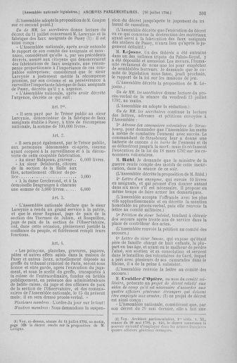 Tome 46 : Du 30 juin au 20 juillet 1792 - page 501