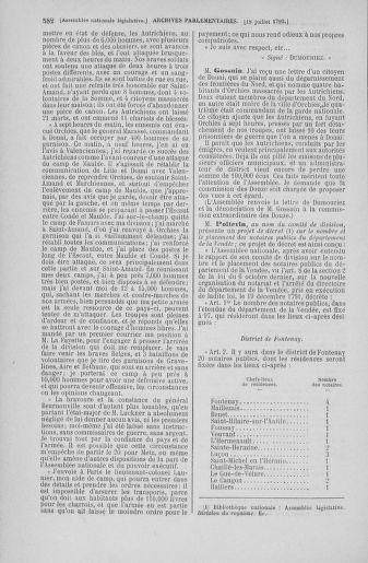 Tome 46 : Du 30 juin au 20 juillet 1792 - page 582